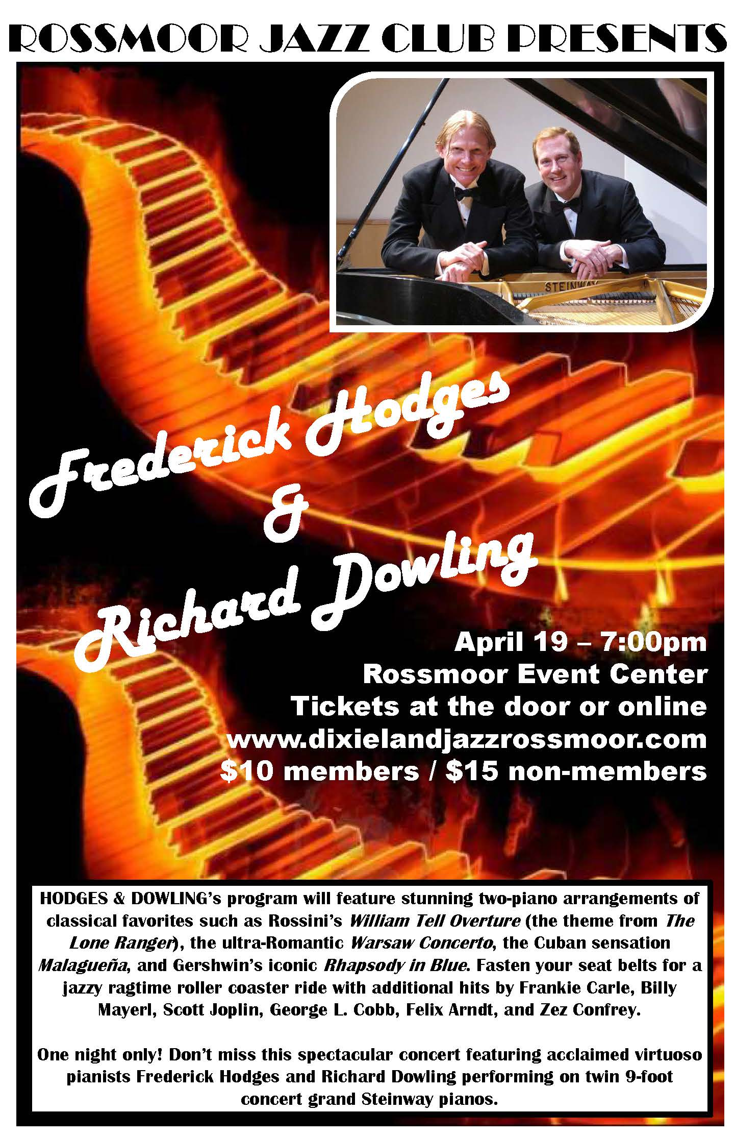 Frederick Hodges and Richard Dowling
