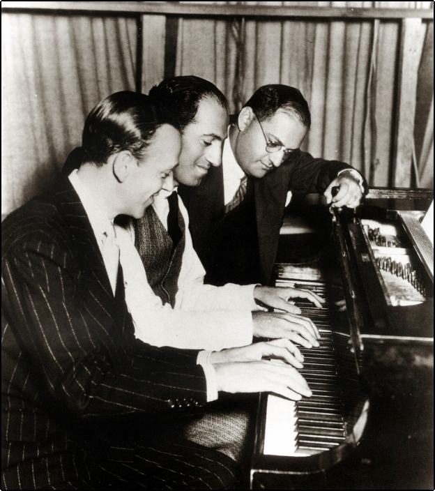 Gershwin and Astaire