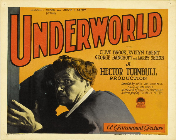 Underworld Lobby Card